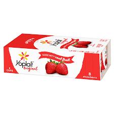 yoplait original yogurt strawberry 8