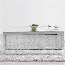 larock crystal coffee table