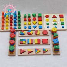 Giá bán Bộ đồ chơi gỗ thông minh 7 món đồ cho bé
