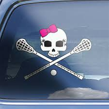 Girls Lacrosse Team Decal Girls Lacrosse School Car Decal 12 Decals For Sale Online Ebay