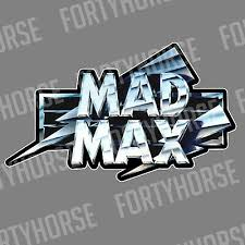Vinyl Stickers Mad Max Logo Ebay