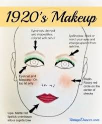 authentic 1920s makeup tutorial 1920s