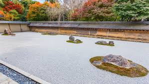 rock gardens became expressions of zen