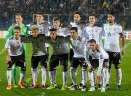 germany national soccer team poses