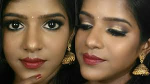 indian style makeup for dark skin