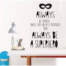Dwpq2381 Superhero Wall Quote By Wallpops