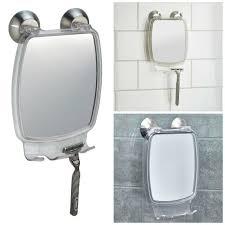 anti fog bathroom shower shaving mirror