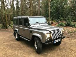 2007 stornaway grey land rover defender