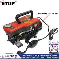 Máy xịt rửa xe ETOP XH-RS1B ( Rơle chống cháy , chống giật )