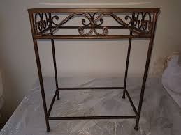 side table iron glass catawiki