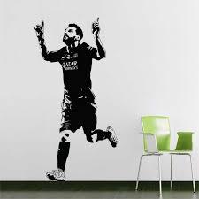 Lionel Messi Barcelona Football Vinyl Wall Art Decal