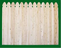 Eastern White Cedar Fence Solid Wood Fence Panels