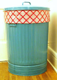 Tutorial Of The Day Painted Trash Cans Stuffed Animal Storage Home Diy