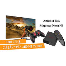 Android Tivi Box Magicsee N5 Nova - Ram 4GB. Rom 32GB, Android 9.0 ...