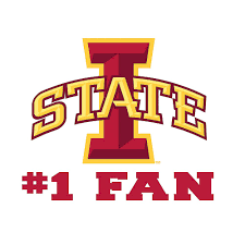 Iowa State Cyclones 1 Fan Decal 3in X 4in Party City