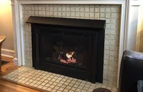 black adjustable fireplace hood