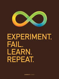 poster experiment fail learn repeat science quotes