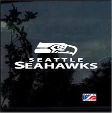 Seattle Seahawks Window Window Decal Sticker Custom Sticker Shop