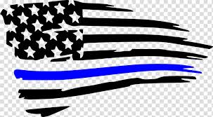 American Flag Flag Of The United States Decal Thin Blue Line Sticker Car Wall Decal American Flag Vinyl Decal Transparent Background Png Clipart Hiclipart