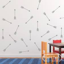 Arrow Wall Decals Vinyl Wall Decals Nursery Toddler Room Geometric