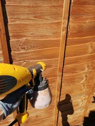 How To Stain A Fence Diy Painting Tips