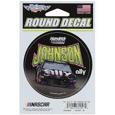 Jimmie Johnson Wincraft 3 Round Logo Decal