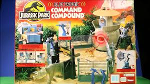 New Jurassic Park Electronic Command Compound Vs Indominus Rex T Rex Jurassic World Unboxing Video Dailymotion