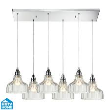 elk lighting 46018 6rc danica 6 light