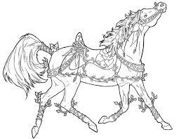 Anti Stress Kleurplaten Paarden 12