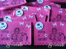 Invitaciones Monster High By Corisko Hecho A Mano
