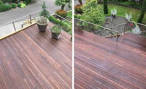 Restoring the Luster of Ipe Decking with Nova USA's ExoShield Wood ...