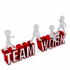 team teamwork team spirit together