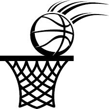 Stickers de silhouettes et personnages - Sticker Ballon de basket et  cerceau | Ambiance-sticker.com