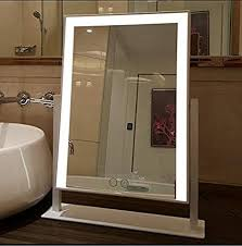 large makeup mirror with big led lights