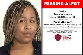 Texas - Desiree Johnson - Missing Alert