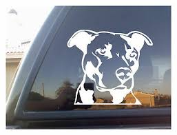 Pitbull Pit Bull Bulldog Dog Car Laptop Sticker Love A Bull Vinyl Decal Home Garden Decor Decals Stickers Vinyl Art
