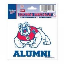 Fresno State Bulldogs Stickers Decals Bumper Stickers