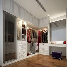 wall mounted wardrobe design with