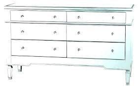 mirrored tall boy drawers chest narrow