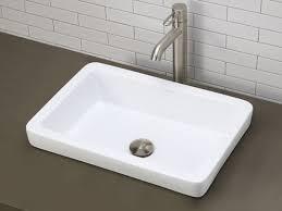 decolav 1453 semi recessed vessel sink
