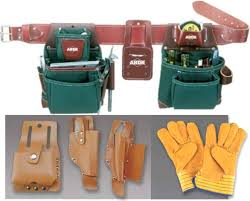 leather tool pouches and bags