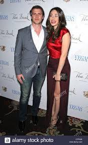 Patrick Heusinger and Emmy Rossum Emmy Rossum hosts Vegas ...