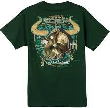 Guy Harvey South Florida Bulls Short Sleeve Back Print T Shirt