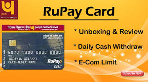 pnb rupay atm card review benefits