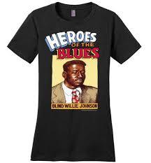 Blind Willie Johnson - Women's T-Shirt | Keep On Truckin' Apparel