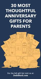 gift ideas for mom and dad anniversary