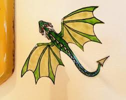 Dragon Window Decal Etsy