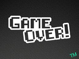 Game Over Funny Car Window Decal Bumper Sticker Video Game 8 Bit Jdm Retro 0034 Product Sbbc Gr