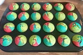 Schnelle Rainbow-Muffins von Schleckermaus95 | Chefkoch