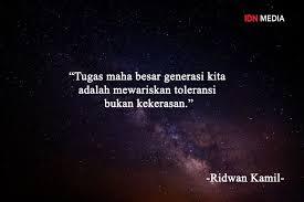 quotes inspiratif tokoh yang mengajarkan toleransi